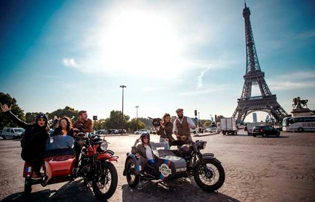 Tour de Paris a bordo de un Side-Car