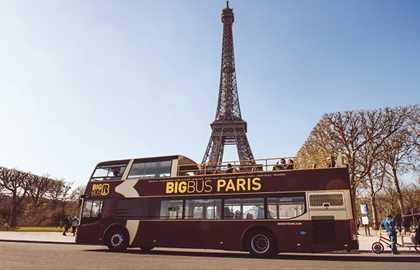 Big Bus Paris - Bus turístico